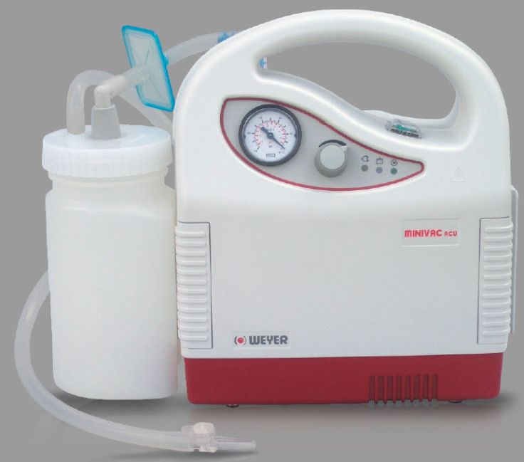It looks like a weird breast pump but it is for removing baby mucus and snot!