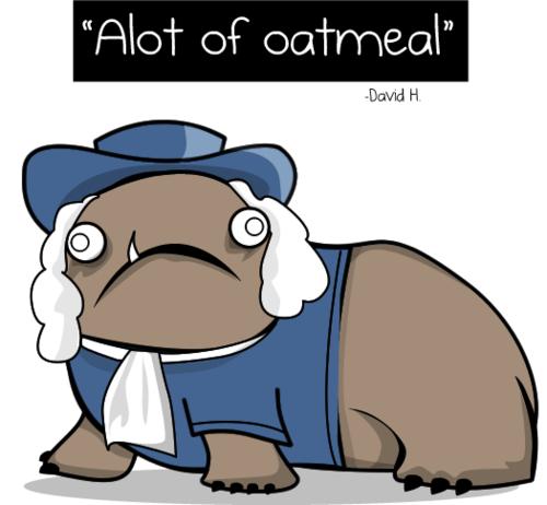 Alot of Oatmeal