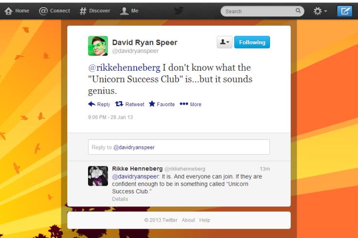 David Ryan Speer's Tweet