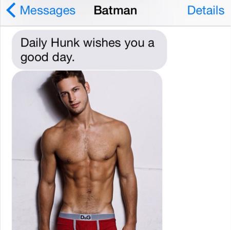 batman's daily hunk